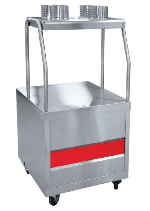 Прилавок для столовых приборов и подносов ПСП-70ПМ