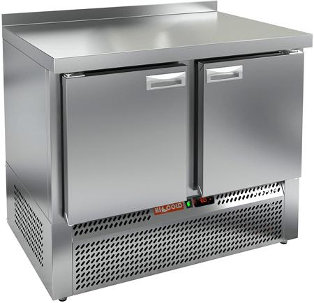 Холодильный стол с нижним расположением агрегата с 2-мя дверями