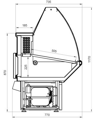 Схема витрины Нова ВХС
