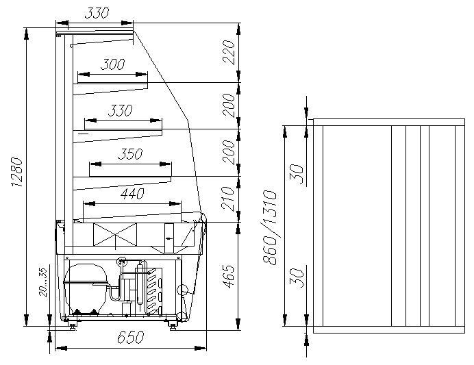 ВХСв вентилируемая - 0,9д Carboma (Техно)